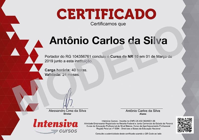 Curso De Nr 10 Curso De Nr 35 Com Certificados